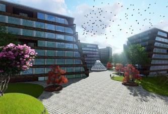 پروژه مجتمع مسکونی (اتوکد+ رندر+ پوستر+ psd) – پروژه معماری