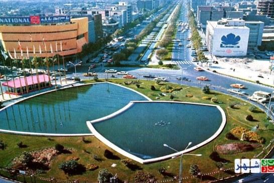 تحلیل فضای شهری – میدان ولیعصر تهران – پروژه تحلیل فضا – پاورپوینت تحلیل فضا