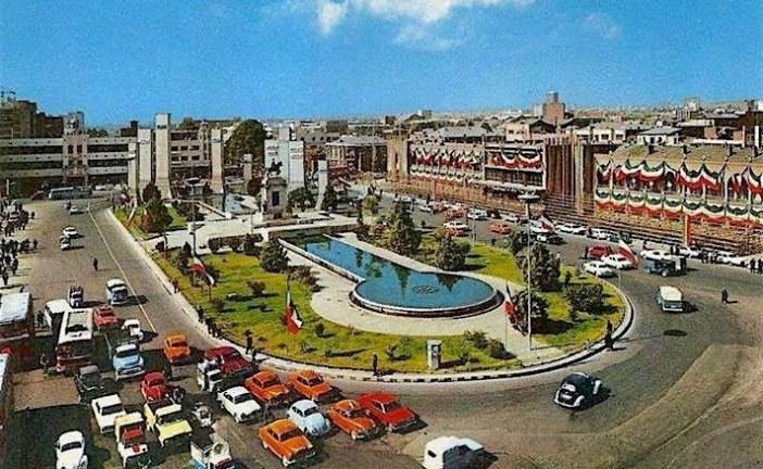 تحلیل فضای شهری – میدان امام خمینی تهران – پروژه تحلیل فضا – پاورپوینت تحلیل فضا