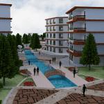 پروژه معماری شهرک مسکونی ۰۲ – اتوکد / سه بعدی / لایه باز فتوشاپ / رندر و پوستر