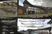 پروژه معماری فرودگاه – فایل اتوکد / فایل سه بعدی مکس / شیت لایه باز فتوشاپ