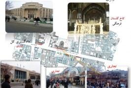 تحلیل فضای شهری پیاده راه 15 خرداد – پروژه تحلیل فضا – پاورپوینت تحلیل فضا
