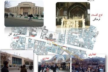 تحلیل فضای شهری – پیاده راه ۱۵ خرداد – پروژه تحلیل فضا – پاورپوینت تحلیل فضا