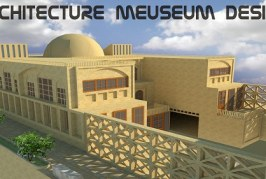 پروژه کامل موزه (فایل اتوکد ، پوستر ، PSD) – پروژه معماری