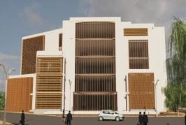 پروژه کامل مرکز فرهنگی (فایل اتوکد، تری دی مکس، رندر، پوستر، PSD) – پروژه معماری