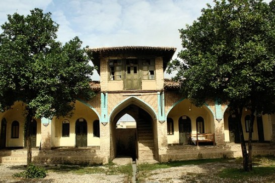 پروژه مرمت مدرسه عمادیه گرگان – طرح مرمت – مرمت ابنیه تاریخی