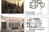 برداشت از بناهای تاریخی – خانه ابریشمی ها یزد – پروژه برداشت