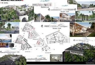 پروژه معماری هتل – پروژه کامل هتل – فایل کامل اتوکد و رویت