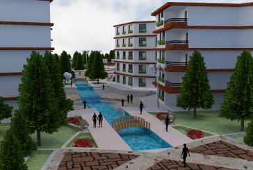 پروژه معماری شهرک مسکونی 02 – اتوکد / سه بعدی / لایه باز فتوشاپ / رندر و پوستر