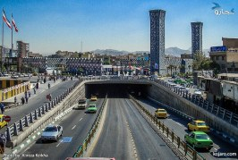 تحلیل فضای شهری – میدان امام حسین تهران – پروژه تحلیل فضا – پاورپوینت تحلیل فضا