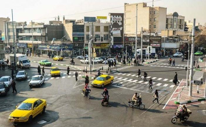 تحلیل فضای شهری – میدان شهدا تهران – پروژه تحلیل فضا – پاورپوینت تحلیل فضا