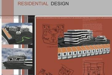 پروژه معماری شهرک – پروژه کامل شهرک (فایل اتوکد ، سه بعدی ، پوستر ، PSD)