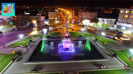 پروژه تحلیل فضای شهری میدان ابهر